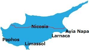 キプロスの都市